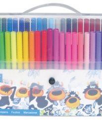 Флумастери в чанта, 50 цвята