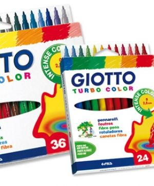 Флумастери Giotto Turbo Color 36 цвята