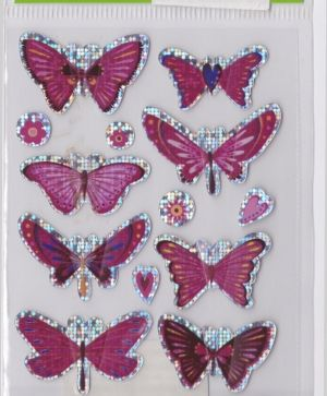 Стикер - Pegatinas Stickers - butterfly